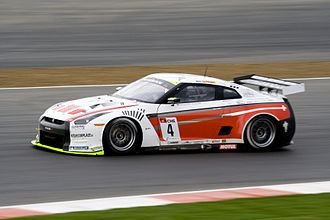 2010 FIA GT1 World Championship - Nissan GT-R GT1s were entered by the Swiss Racing Team (pictured) and Sumo Power GT