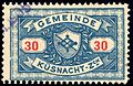 Switzerland Küsnacht 1901 revenue 30c - 3.jpg