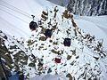 Télécabine Panoramic Mont-Blanc ancienne et nouvelles cabines.JPG