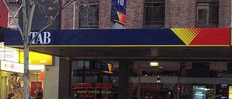 Totalisator Agency Board - A TAB in Melbourne