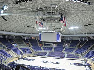 Schollmaier Arena -  TCU Arena Interior 2016