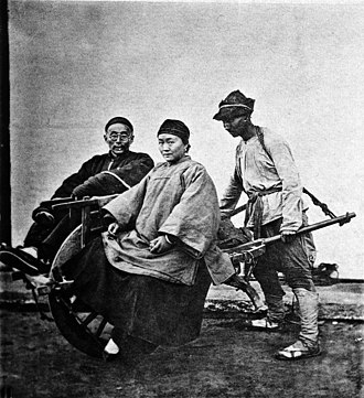 Shanghainese people - Image: THE SHANGHAI WHEEL BARROW