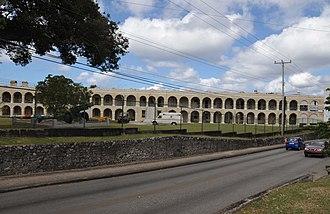Garrison Historic Area - The Stone Barracks in the Garrison Historic Area