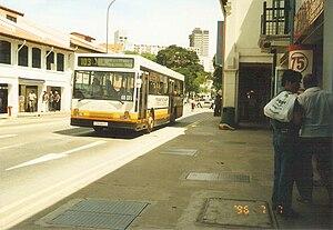 TIBS Holdings - Image: TIBS bus, Singapore 19960707