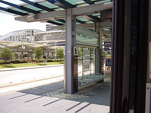 Texas Medical Center Transit Center (METRORail station) - Image: TMC Transit Center Station Houston TX