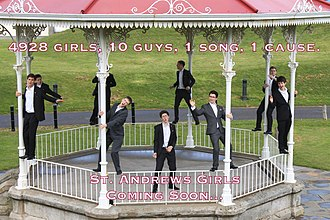 """The Other Guys (University of St Andrews) - Promotional Teaser for the """"St Andrews Girls"""" charity single and video"""