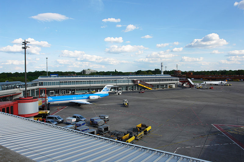 Терминал D берлинского аэропорта Тегель Tegel Airport