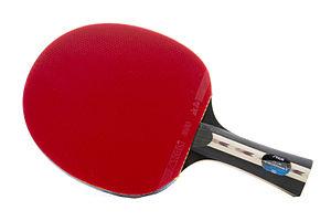 c5dfe7142 A raquete de tênis de mesa usada nas competições de tênis de mesa pode ser  de qualquer tamanho