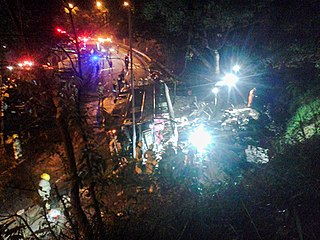 2018 Hong Kong bus accident Deadly 2018 crash of a double-decker bus in Tai Po, New Territories, Hong Kong