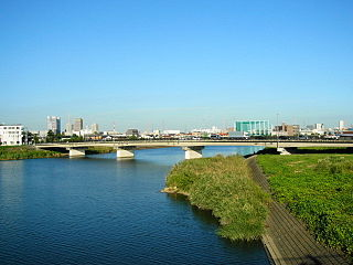 Tsurumi River River in Tokyo and Kanagawa