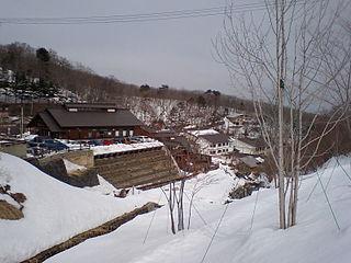 building in Fukushima Prefecture, Japan
