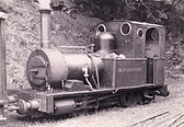 The Talyllyn Railway's locomotive Dolgoch in 1951