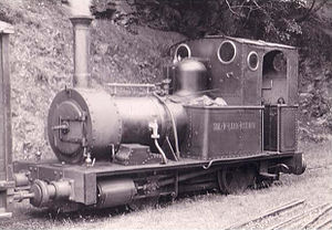 British narrow-gauge railways - Steam locomotive Dolgoch in her first year of preservation service on the Talyllyn Railway, the first volunteer-run heritage railway in the world