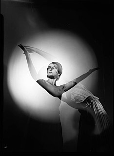 Tamara Tchinarova Australian ballet dancer