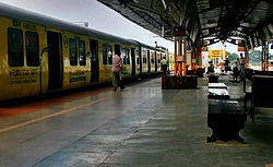 Tambaram Railway Station of Chennai Suburban Railway Network