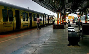 Tambaram - Tambaram Railway Station of Chennai Suburban Railway Network