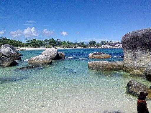 Tanjung Tinggi Beach, Bangka-Belitung Province, Indonesia