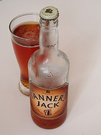 Morland Brewery - Tanner's Jack ale, named after the leather tankards popular in the 18th century