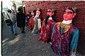 Taoist deities rest along San Francisco's Chinatown 2004, The Year of the Monkey.jpg