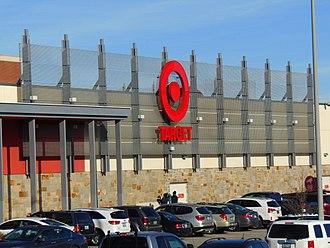 Warwick Mall - The Target located in the Warwick Mall.