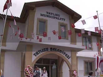 Akanthou - Image: Tatlisu municipality building