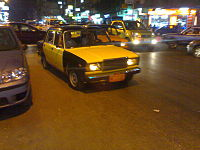 Taxi by night in Alexandria (2008).jpg