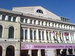 Teatro Calderón, Valladolid - Image: Teatro Calderón (Seminci 2007)
