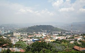 Tegucigalpa Cerro Juan A. Laínez
