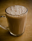 A glass of Teh tarik