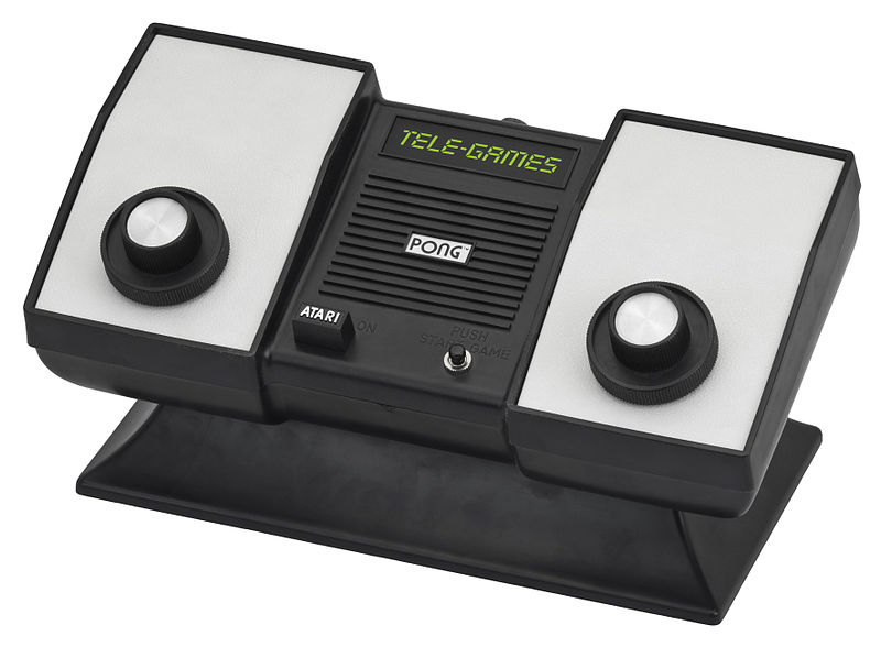 IMAGE(http://upload.wikimedia.org/wikipedia/commons/thumb/2/26/TeleGames-Atari-Pong.jpg/800px-TeleGames-Atari-Pong.jpg)