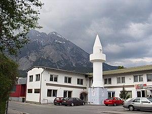 Islam in Austria - A Mosque in Telfs.