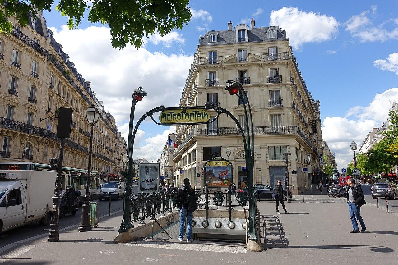 Nom Station Metro Paris Au Nom De Ville