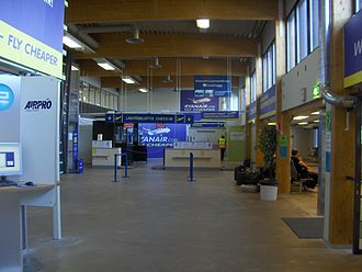 Tampere–Pirkkala Airport - Terminal 2 from inside before 2014 renovations