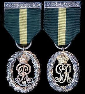 Territorial Decoration military medal of the United Kingdom