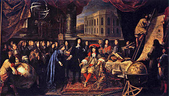 Henri Testelin - Image: Testelin, Henri Colbert Presenting the Members of the Royal Academy of Sciences to Louis XIV in 1667