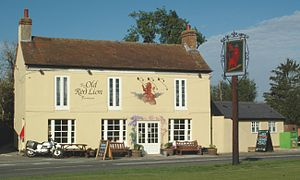 Tetsworth - The Old Red Lion public house
