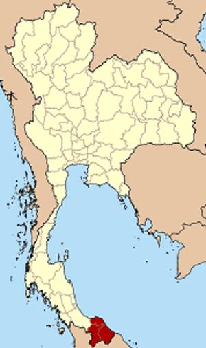 Patani - Image: Thailand Pattani region