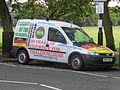 Thalidomide campaign Vauxhall Combo, West Park, Harrogate (1st September 2015).JPG