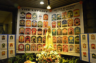 Litany of the Blessed Virgin Mary - The Litany of the Blessed Virgin Mary, taken at EDSA Shrine, Manila, Philippines.