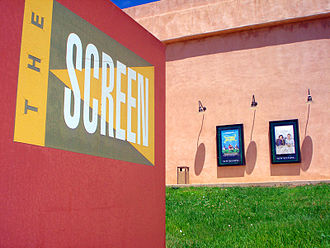 Cinematheque - The Screen on the campus of Santa Fe University of Art and Design