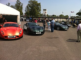 TVR Typhon - The 3 TVR Typhons