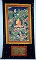 The Buddha Sakyamuni seated on a lotus in a landscape contai Wellcome L0015317.jpg
