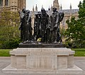 The Burghers of Calais Outside The Palace of Westminster (geograph 2955137) (cropped).jpg