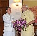 The Chief Minister of Arunachal Pradesh, Shri Nabam Tuki calling on the Prime Minister, Shri Narendra Modi, in New Delhi on June 27, 2014.jpg
