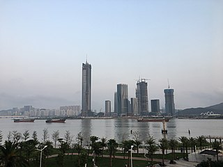 Hengqin Town and New Area in Zhuhai / Macau, Peoples Republic of China