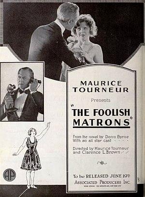 The Foolish Matrons - Advertisement