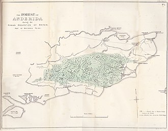Weald - The Forest of Anderida during the Roman occupation of Britain