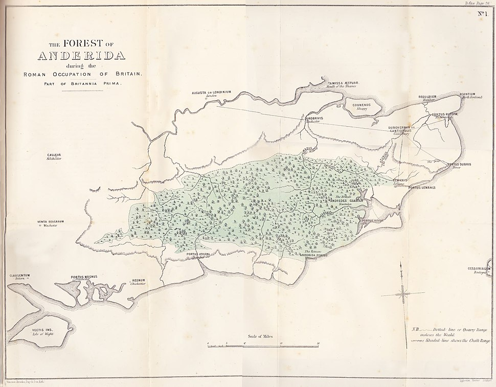 The Forest of Anderida during the Roman Occupation of Britain