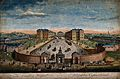 The Foundling Hospital, Holborn, London; a bird's-eye view o Wellcome V0013460.jpg