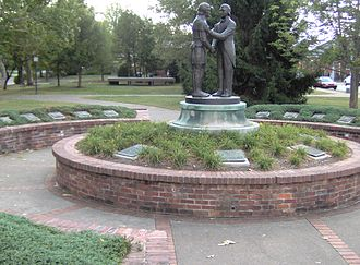 Constitution Square Historic Site - The Governor's Circle was added to the site in the 1970s.